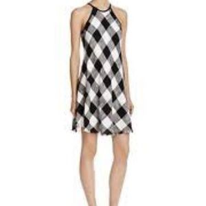 a57854aefbfd Cloth & Stone NWT Plaid Frayed Hem Halter Dress XS NWT